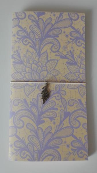 Machbar Travelers Notebook flieder creme Standard