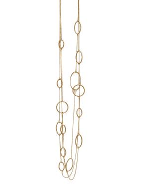 Vivienne Long Chain Halskette Vergoldet