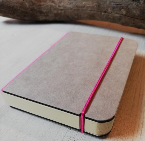 Bindewerk Notizbuch A6 pink blanko