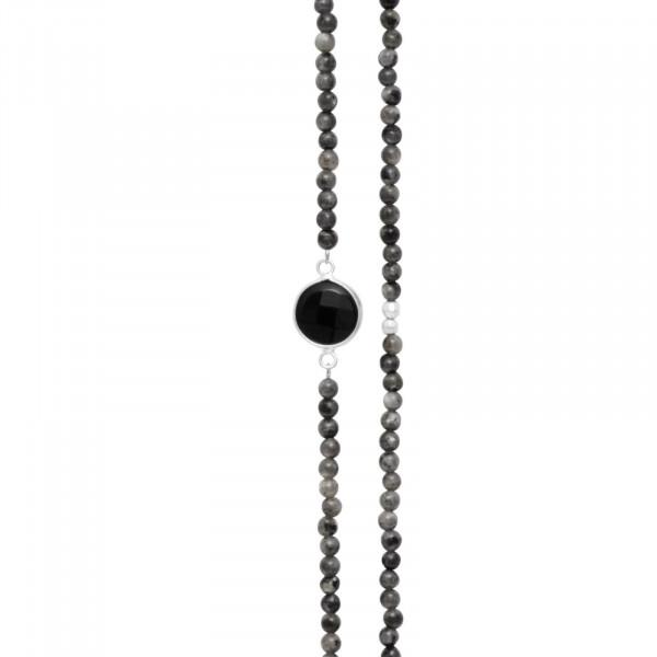 Rosie Elastisch Halskette Versilbert