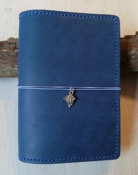 Machbar Travelers Notebook A6 mittelblau mit Naht