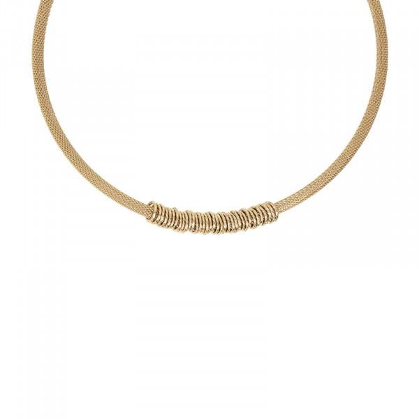 Timeless Short Halskette Vergoldet
