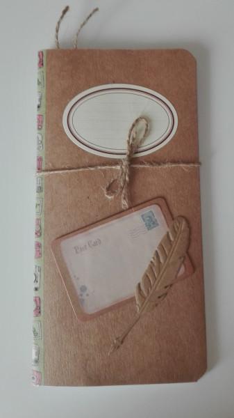 Machbar Notizbuch Karte und Feder Standard
