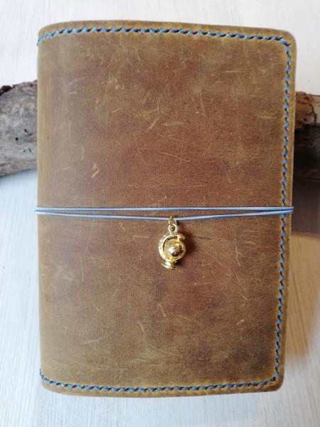 Machbar Leder Notizbuch A6 Travelers Notebook curry