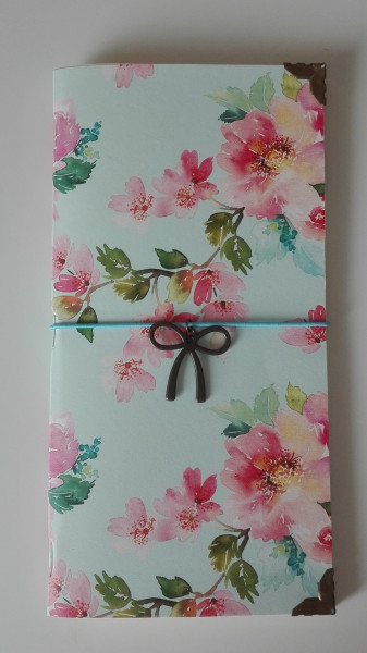 Machbar Travelers Notebook Blüten Standard
