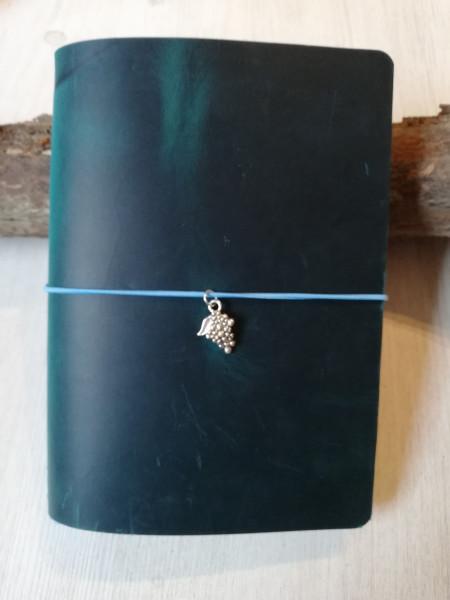 Machbar Leder Travelers Notebook Notizbuch türkis A6
