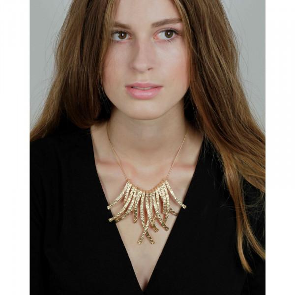 Amber Frill Halskette Vergoldet