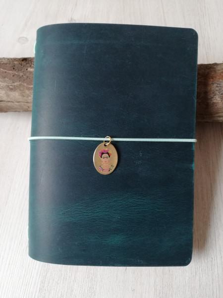 Machbar Leder Notizbuch Travelers Notebook curry A6