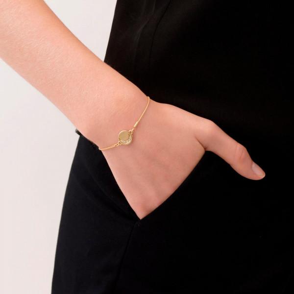 Moon Armband Vergoldet