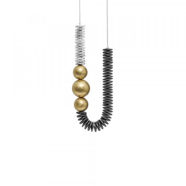 Sally Short Necklace Halskette Silver Plating