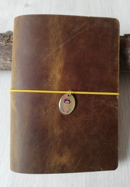Machbar Ledernotizbuch Travelers Notebook curry A6
