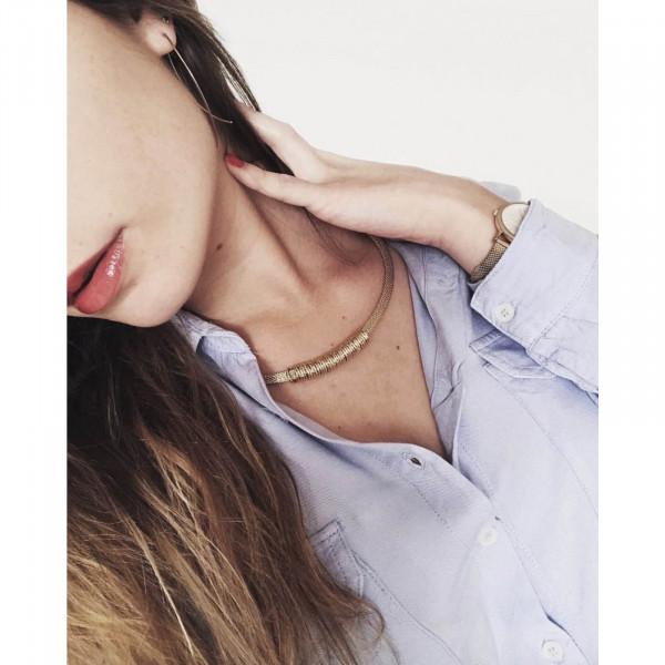 Timeless Short Halskette Versilbert