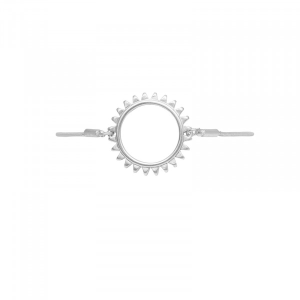 Sun Simple Armband Versilbert