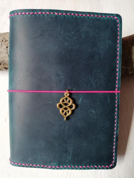 Machbar Leder Notizbuch Travelers Notebook A6 türkis