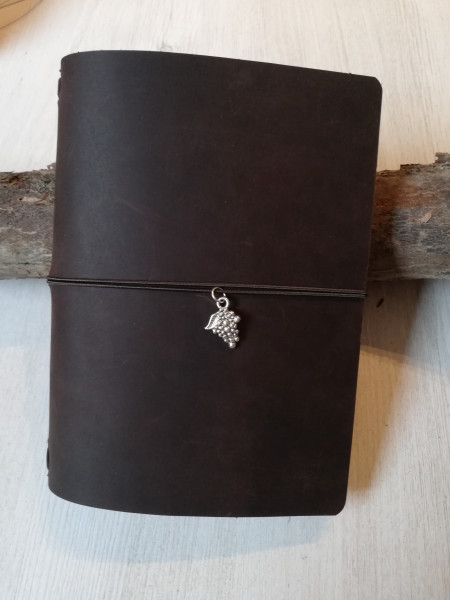 Machbar Leder Notizbuch Travelers Notebook braun A6