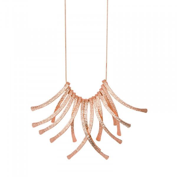 Amber Frill Halskette Rosé Vergoldet