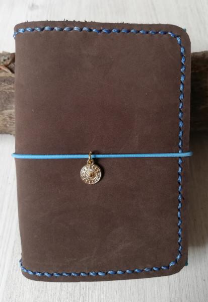 Machbar Ledernotizbuch Travelers Notebook braun A7