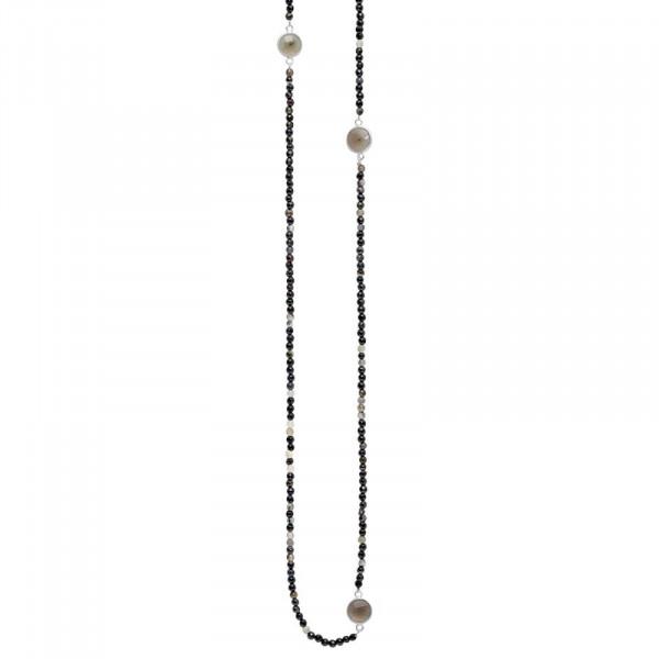 Safron Elastisch Halskette Versilbert