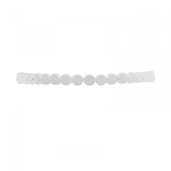 Vanity Mini Dot Armband Versilbert