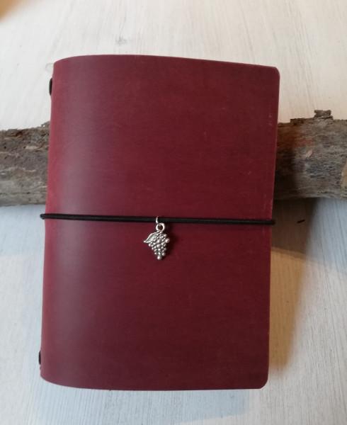 Machbar Leder Travelers Notebook Notizbuch rot A6