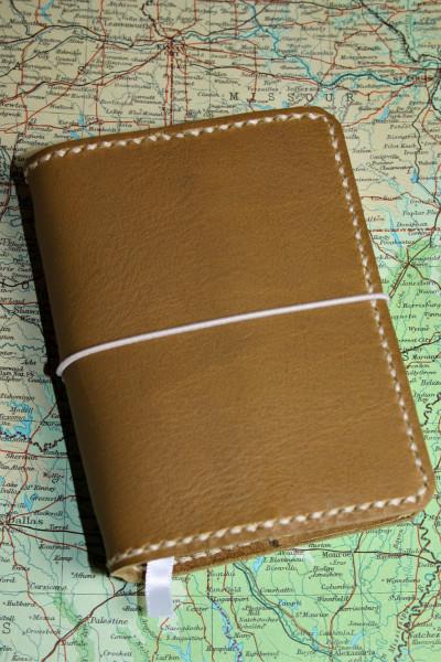 Machbar Leder Travelers Notebook Notizbuch braun A7