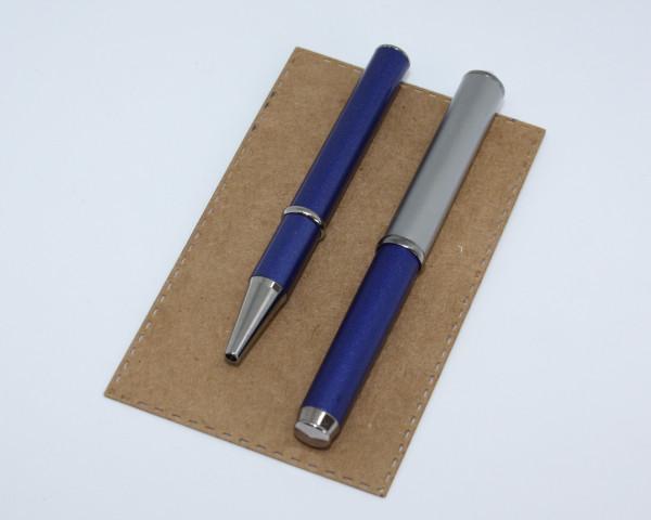 ONLINE Füllfederhalter und Kugelschreiber mini lila metall